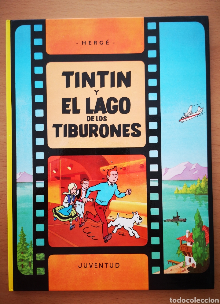 TINTIN Y EL LAGO DE LOS TIBURONES (Tebeos y Comics - Juventud - Tintín)