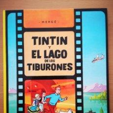 Cómics: TINTIN Y EL LAGO DE LOS TIBURONES. Lote 209905496