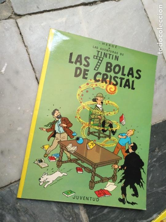 Cómics: Tintin Coleccion 11 Tomos O CUADERNILLOS Herge, Tapa Blanda, Juventud AÑOS 80 . DEL AÑO 85 AL 89 - Foto 2 - 209923880