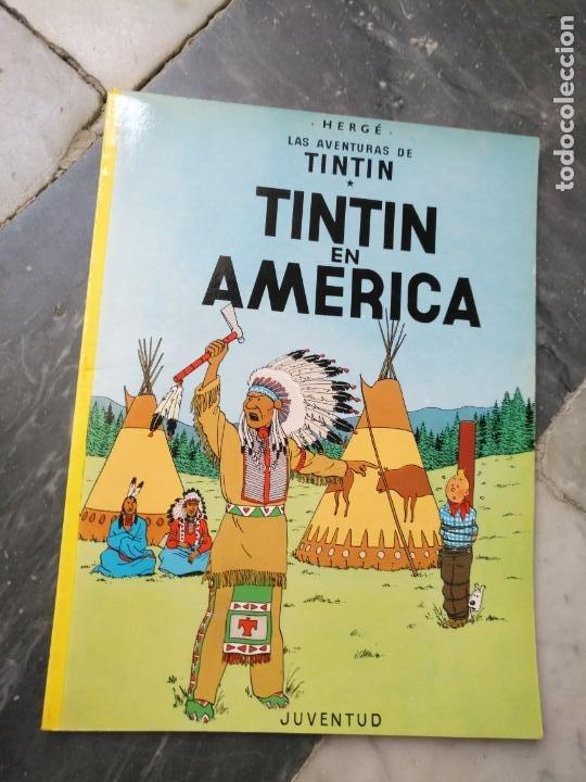 Cómics: Tintin Coleccion 11 Tomos O CUADERNILLOS Herge, Tapa Blanda, Juventud AÑOS 80 . DEL AÑO 85 AL 89 - Foto 3 - 209923880