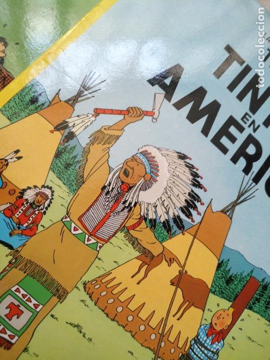 Cómics: Tintin Coleccion 11 Tomos O CUADERNILLOS Herge, Tapa Blanda, Juventud AÑOS 80 . DEL AÑO 85 AL 89 - Foto 4 - 209923880