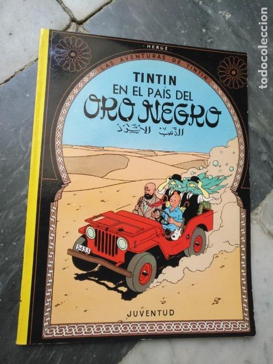 Cómics: Tintin Coleccion 11 Tomos O CUADERNILLOS Herge, Tapa Blanda, Juventud AÑOS 80 . DEL AÑO 85 AL 89 - Foto 5 - 209923880