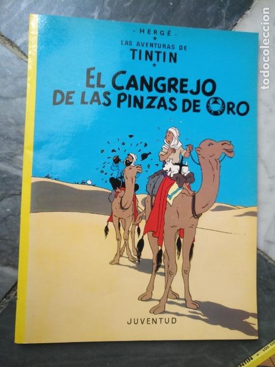 Cómics: Tintin Coleccion 11 Tomos O CUADERNILLOS Herge, Tapa Blanda, Juventud AÑOS 80 . DEL AÑO 85 AL 89 - Foto 6 - 209923880