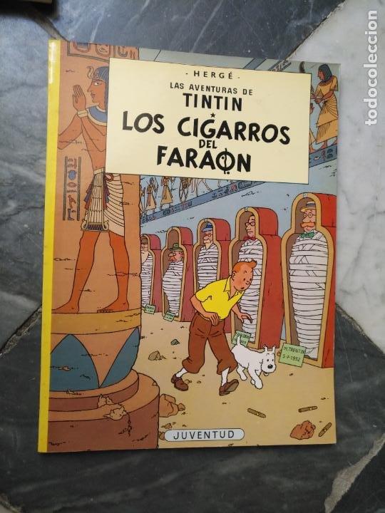 Cómics: Tintin Coleccion 11 Tomos O CUADERNILLOS Herge, Tapa Blanda, Juventud AÑOS 80 . DEL AÑO 85 AL 89 - Foto 7 - 209923880