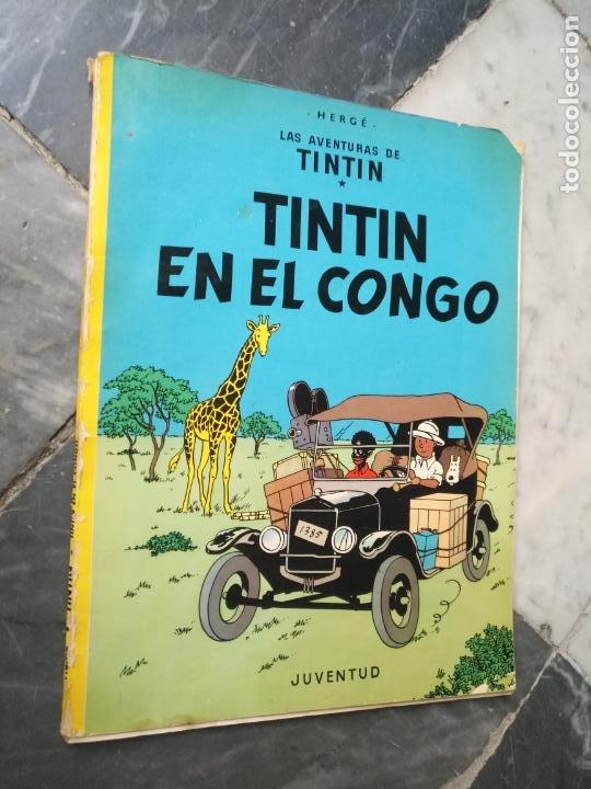 Cómics: Tintin Coleccion 11 Tomos O CUADERNILLOS Herge, Tapa Blanda, Juventud AÑOS 80 . DEL AÑO 85 AL 89 - Foto 8 - 209923880