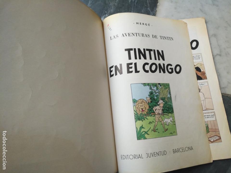Cómics: Tintin Coleccion 11 Tomos O CUADERNILLOS Herge, Tapa Blanda, Juventud AÑOS 80 . DEL AÑO 85 AL 89 - Foto 11 - 209923880
