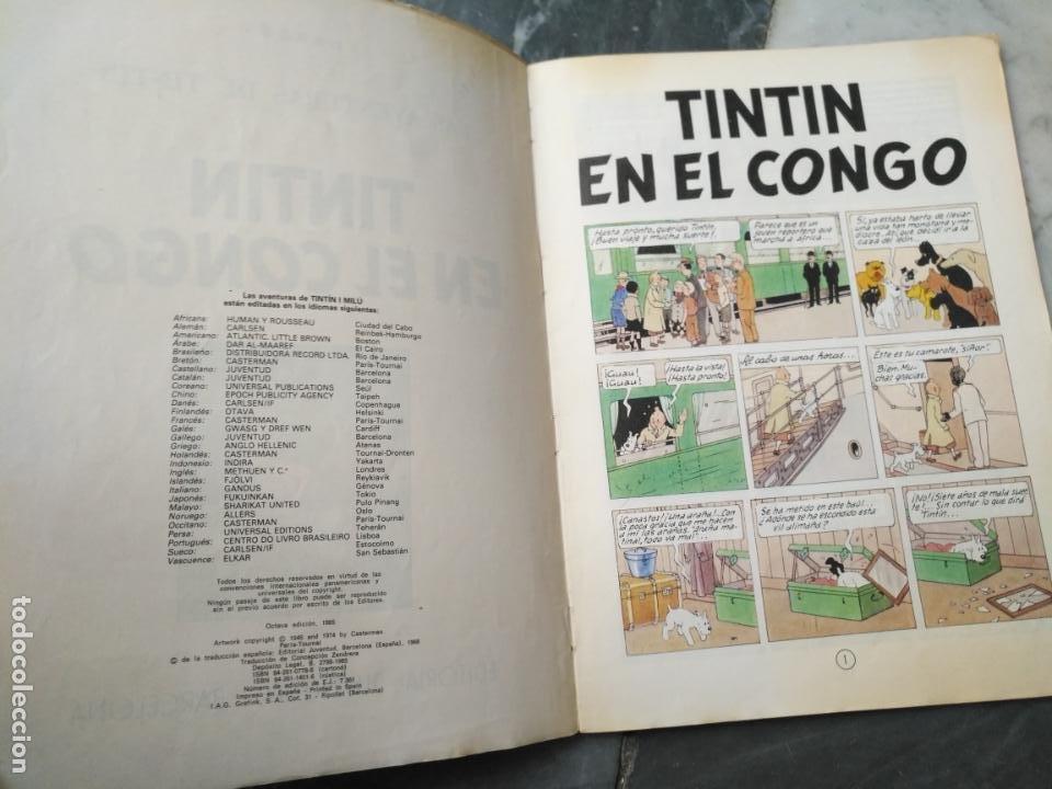 Cómics: Tintin Coleccion 11 Tomos O CUADERNILLOS Herge, Tapa Blanda, Juventud AÑOS 80 . DEL AÑO 85 AL 89 - Foto 12 - 209923880