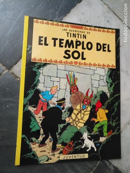 Cómics: Tintin Coleccion 11 Tomos O CUADERNILLOS Herge, Tapa Blanda, Juventud AÑOS 80 . DEL AÑO 85 AL 89 - Foto 13 - 209923880