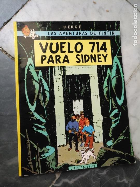 Cómics: Tintin Coleccion 11 Tomos O CUADERNILLOS Herge, Tapa Blanda, Juventud AÑOS 80 . DEL AÑO 85 AL 89 - Foto 14 - 209923880