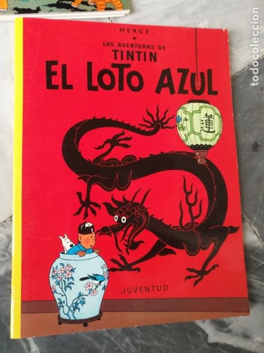 Cómics: Tintin Coleccion 11 Tomos O CUADERNILLOS Herge, Tapa Blanda, Juventud AÑOS 80 . DEL AÑO 85 AL 89 - Foto 16 - 209923880