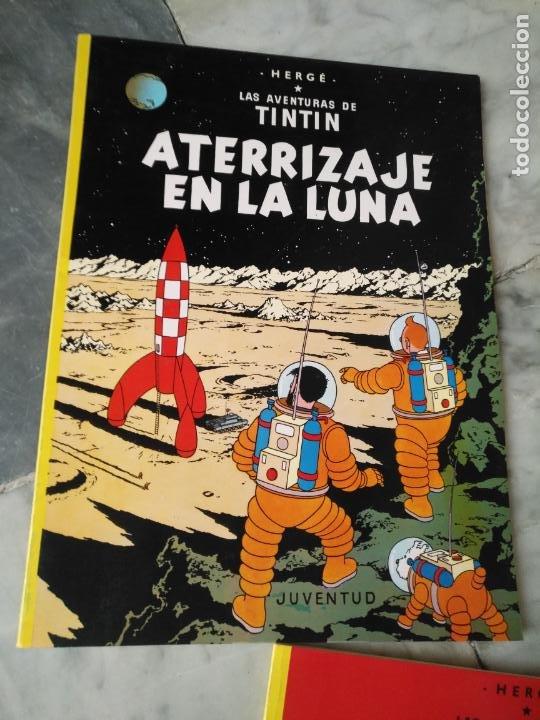 Cómics: Tintin Coleccion 11 Tomos O CUADERNILLOS Herge, Tapa Blanda, Juventud AÑOS 80 . DEL AÑO 85 AL 89 - Foto 17 - 209923880