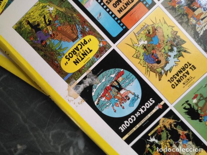 Cómics: Tintin Coleccion 11 Tomos O CUADERNILLOS Herge, Tapa Blanda, Juventud AÑOS 80 . DEL AÑO 85 AL 89 - Foto 18 - 209923880