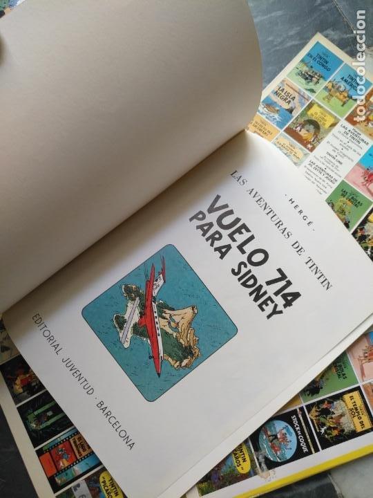 Cómics: Tintin Coleccion 11 Tomos O CUADERNILLOS Herge, Tapa Blanda, Juventud AÑOS 80 . DEL AÑO 85 AL 89 - Foto 20 - 209923880
