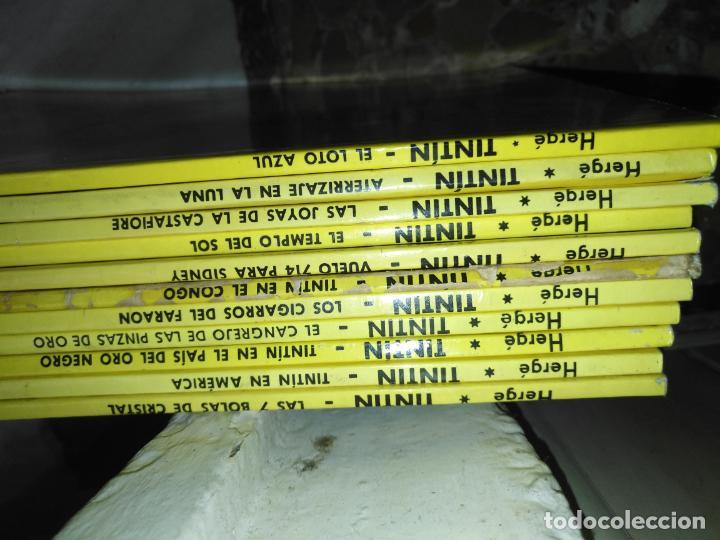 Cómics: Tintin Coleccion 11 Tomos O CUADERNILLOS Herge, Tapa Blanda, Juventud AÑOS 80 . DEL AÑO 85 AL 89 - Foto 21 - 209923880