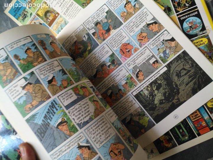 Cómics: Tintin Coleccion 11 Tomos O CUADERNILLOS Herge, Tapa Blanda, Juventud AÑOS 80 . DEL AÑO 85 AL 89 - Foto 23 - 209923880