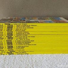 Cómics: LAS AVENTURAS DE TINTIN, (HERGE) COLECCIÓN COMPLETA (23 NUMEROS) - EDITORIAL JUVENTUD 2003/04. Lote 210122828