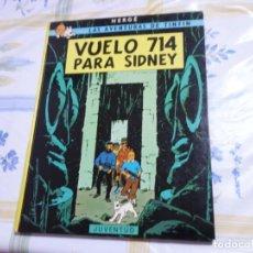 Cómics: VUELO 714 PARA SIDNEY. TEBEO COMIC TINTIN. Lote 210237650