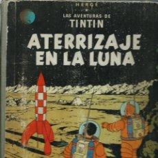 Comics: HERGE - TINTIN - ATERRIZAJE EN LA LUNA - ED. JUVENTUD, OCTUBRE 1959 - PRIMERA EDICION - LOMO GRIS. Lote 210334693