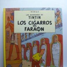 Cómics: LAS AVENTURAS DE TINTÍN. LOS CIGARROS DEL FARAÓN. HERGÉ. JUVENTUD. 1993.. Lote 210336111