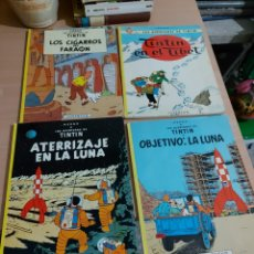 Cómics: 4 REVISTAS HERGE LAS AVENTURAS DE TINTIN. Lote 210419533