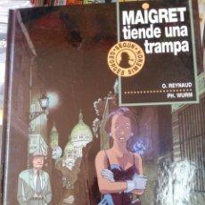 Cómics: MAIGRET TIENDE UNA TRAMPA, 2, JUNIOR. Lote 210438927