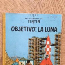 Cómics: TINTÍN- OBJETIVO: LA LUNA. SEGUNDA EDICIÓN 1964. Lote 210468221