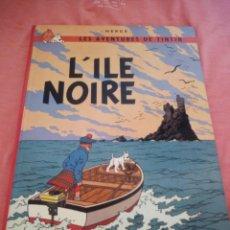 Cómics: TINTIN L'ÎLE NOIRE 1984,FRANCES. Lote 210540281