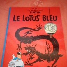 Cómics: TINTIN LE LOTUS BLEU 1982,EN FRANCES,CASTERMAN. Lote 210540488