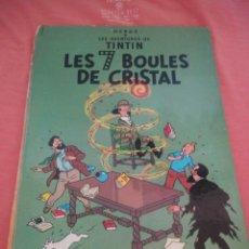 Cómics: TINTIN LES 7 BOULES DE CRISTAL CASTERMAN 1966 (EN FRANCES). Lote 210540745