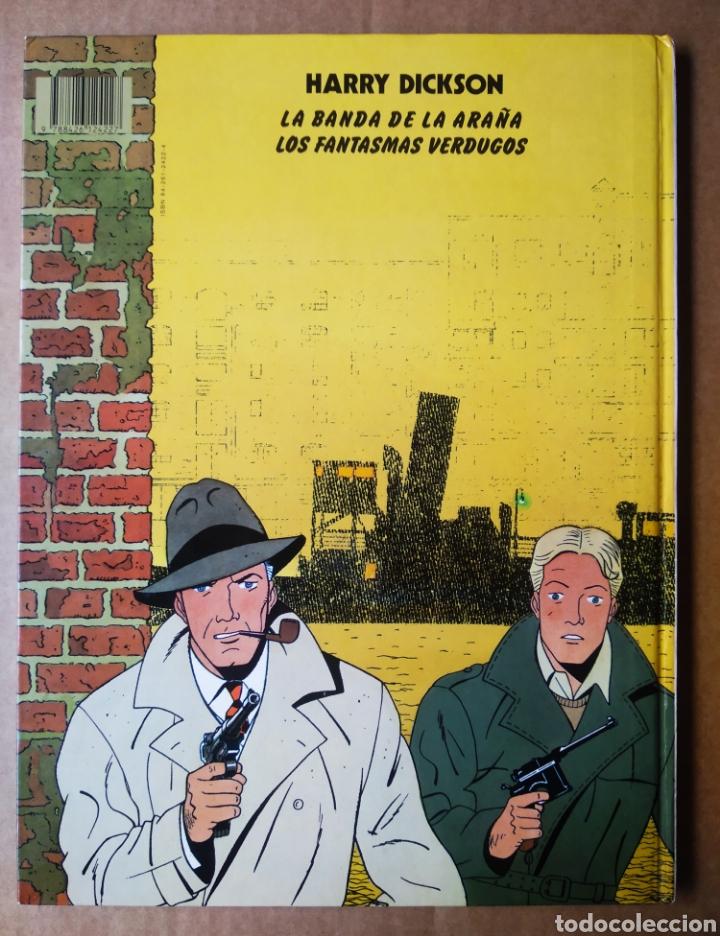 Cómics: Harry Dickson n°2: Los Fantasmas Verdugos, por Pascal J. Zanon y Christian Vanderhaeghe (Juventud) - Foto 2 - 210568866