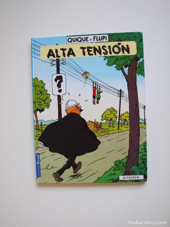 QUIQUE Y FLUPI - ALTA TENSIÓN -HERGÉ - JUVENTUD 1ª ED. 1991 (Tebeos y Comics - Juventud - Otros)
