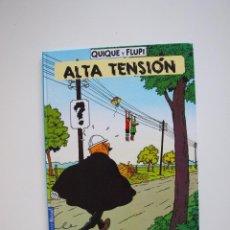 Cómics: QUIQUE Y FLUPI - ALTA TENSIÓN -HERGÉ - JUVENTUD 1ª ED. 1991. Lote 210815192