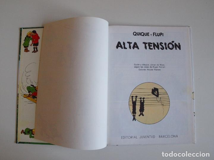 Cómics: QUIQUE Y FLUPI - ALTA TENSIÓN -HERGÉ - JUVENTUD 1ª ED. 1991 - Foto 3 - 210815192
