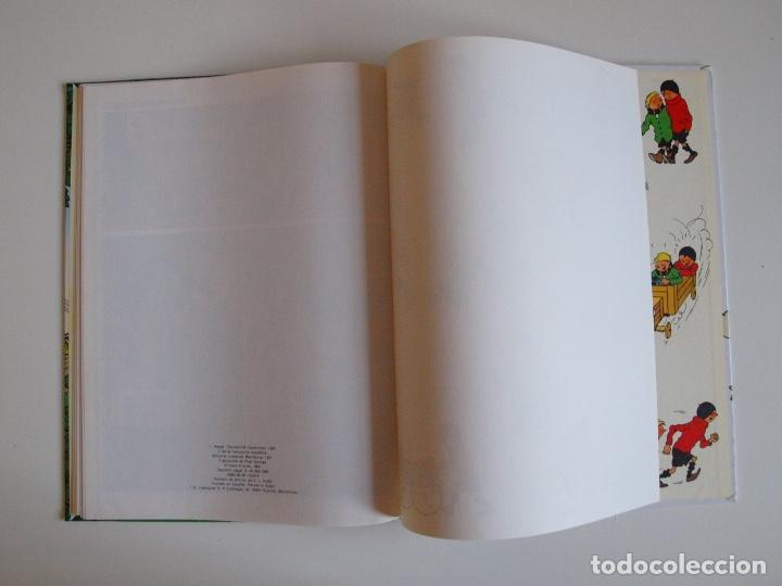 Cómics: QUIQUE Y FLUPI - ALTA TENSIÓN -HERGÉ - JUVENTUD 1ª ED. 1991 - Foto 5 - 210815192
