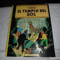 Cómics: EL TEMPLO DEL SOL.LAS AVENTURAS DE TINTIN.HERGE.EDITORIAL JUVENTUD VIGESIMA EDICION 2003. Lote 210971590