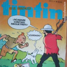 Cómics: TINTIN Nº18 NANOUCHE EN RESCATE PELIGROSO - BRUGUERA 1982. Lote 211471146