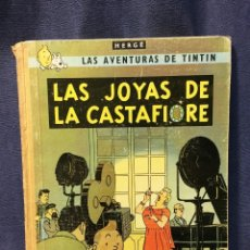 Cómics: AVENTURAS DE TINTIN LAS JOYAS DE LA CASTAFIORE HERGE JUVENTUD 2ª ED 1965 30X23CMS. Lote 211487100