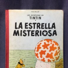 Cómics: AVENTURAS DE TINTIN LA ESTRELLA MISTERIOSA HERGE JUVENTUD 2ª ED 1964 30X23CMS. Lote 211488874