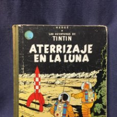Cómics: AVENTURAS DE TINTIN ATERRIZAJE EN LA LUNA HERGE JUVENTUD 4ª ED 1967 30X23CMS. Lote 211489904