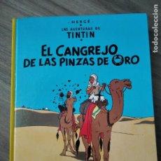 Cómics: TINTIN EL CANGREJO DE LAS PINZAS DE ORO. Lote 211503675