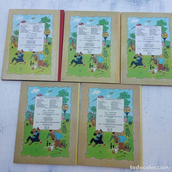 Cómics: LAS AVENTURAS DE JO, ZETTE Y JOCKO - HERGÉ- COMPLETA 1 AL 5 - EDI. JUVENTUD, MUY NUEVOS - Foto 5 - 211514536