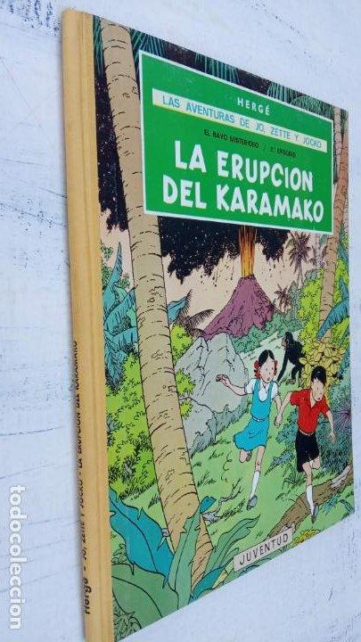 Cómics: LAS AVENTURAS DE JO, ZETTE Y JOCKO - HERGÉ- COMPLETA 1 AL 5 - EDI. JUVENTUD, MUY NUEVOS - Foto 7 - 211514536