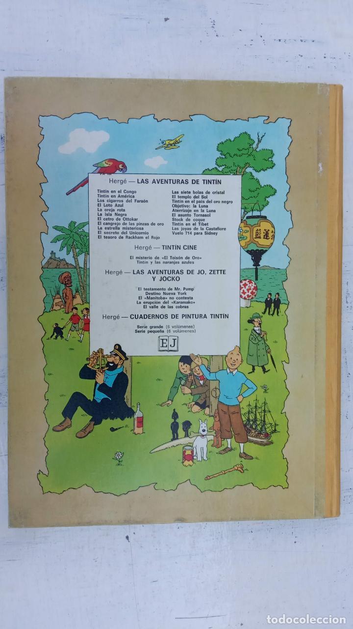 Cómics: LAS AVENTURAS DE JO, ZETTE Y JOCKO - HERGÉ- COMPLETA 1 AL 5 - EDI. JUVENTUD, MUY NUEVOS - Foto 8 - 211514536