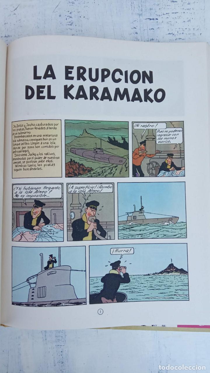 Cómics: LAS AVENTURAS DE JO, ZETTE Y JOCKO - HERGÉ- COMPLETA 1 AL 5 - EDI. JUVENTUD, MUY NUEVOS - Foto 10 - 211514536