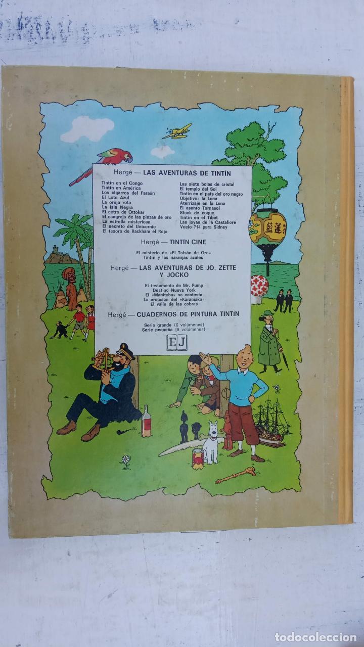 Cómics: LAS AVENTURAS DE JO, ZETTE Y JOCKO - HERGÉ- COMPLETA 1 AL 5 - EDI. JUVENTUD, MUY NUEVOS - Foto 19 - 211514536