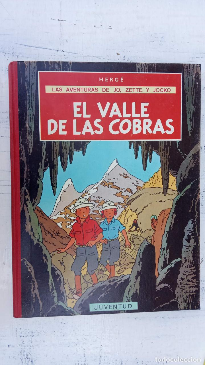 Cómics: LAS AVENTURAS DE JO, ZETTE Y JOCKO - HERGÉ- COMPLETA 1 AL 5 - EDI. JUVENTUD, MUY NUEVOS - Foto 23 - 211514536