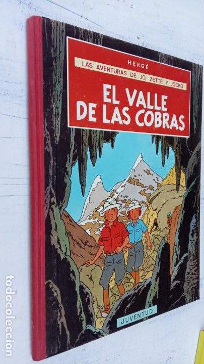 Cómics: LAS AVENTURAS DE JO, ZETTE Y JOCKO - HERGÉ- COMPLETA 1 AL 5 - EDI. JUVENTUD, MUY NUEVOS - Foto 24 - 211514536