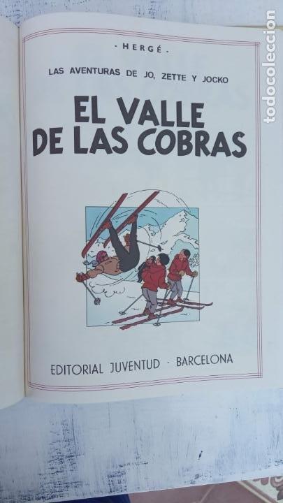 Cómics: LAS AVENTURAS DE JO, ZETTE Y JOCKO - HERGÉ- COMPLETA 1 AL 5 - EDI. JUVENTUD, MUY NUEVOS - Foto 25 - 211514536