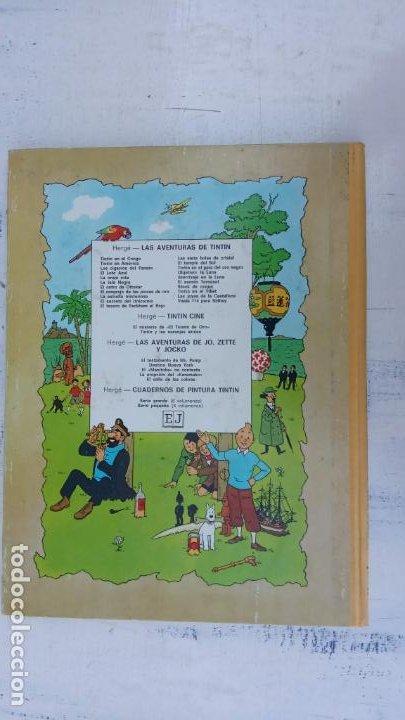 Cómics: LAS AVENTURAS DE JO, ZETTE Y JOCKO - HERGÉ- COMPLETA 1 AL 5 - EDI. JUVENTUD, MUY NUEVOS - Foto 28 - 211514536