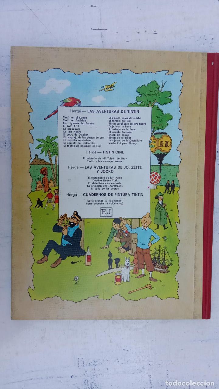 Cómics: LAS AVENTURAS DE JO, ZETTE Y JOCKO - HERGÉ- COMPLETA 1 AL 5 - EDI. JUVENTUD, MUY NUEVOS - Foto 32 - 211514536